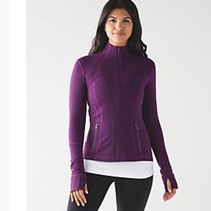 Lululemon Define Purple Jacket 8